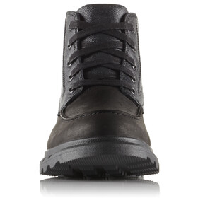 Sorel Portzman Moc Toe Shoes Men Black/Quarry